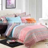 New Comfortable Bed Sheet Set 4 pieces King Size Bedding Set Printing Duvet Cover Set 100% Cotton