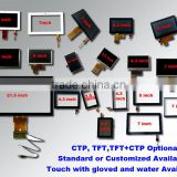 Customized Available Lcd touch panel module 2.8,3.5,4.3,5,7""