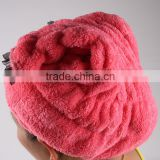 Hair Turban Dry Cap Bath Head Wrap Hair Wrap Cap