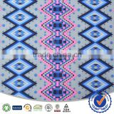 96% polyester 4% spandex printed fabric for women dresses summer outdoor fabric