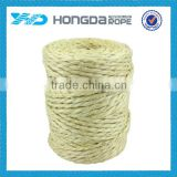 Factory manufacture natural color twiste sisal rope 6mm