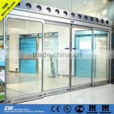 discount automatic sliding door from china suppliers with laminated glass aluminum frame sensor lock photocell