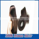 5a top quality,free shipping,16inch,#1B,straight Brazilian virgin remy human hair extensions