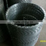 stainless steel razor barbed wire-(Manufacturer&Exporter)-Huihuang factory Skype: amyliu0930