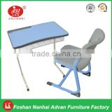 Children furniture wholesale children study desk and chair, high quality table and chair