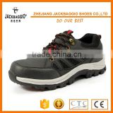 trekking style comfortable blue leather unisex casual safety work shoes lightweight trekking shoe