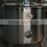 1000L Hold-up stainless steel vessel