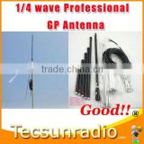 Fmuser 1/4 wave Professional GP Antenna c band satellite mesh dish antenna
