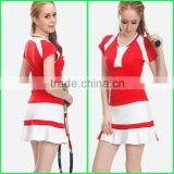 Wholesale custom design badminton jersey design with cheap price badminton uniform hot sale in badminton sport wear for women                                                                         Quality Choice