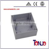 abs material wall switch plastic junction box