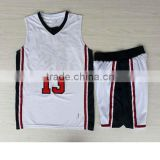 2016 new fashion china supplier cheap kids basketball jerseys with all team