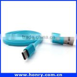 Jelly usb type-c to usb 2.0 A Male Cable, fast speed date transfer and charger cable for ipad mini 4