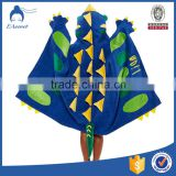 New design terry adult hooded poncho beach towel with low price