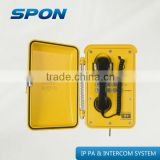 Auto-dial waterproof phone & Paging equipment of IP network industrial intercom telephone station