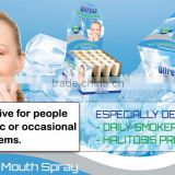 DIFRESH STOP-HALITOSIS spray is the best solution to combat bad breathe