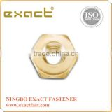 Hex nut made in Taiwan Brass nut