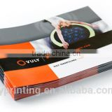 Glossy coated paper flyer printing art paper folded brochure printing                                                                         Quality Choice