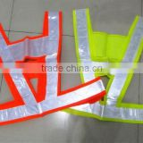 HIgh Visibility Strap Reflective Belt Vest Safety Vest For Roadaway Drivers In Neon Colors In Stock For Wholesale