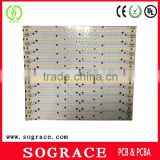 HASL aluminum led driver pcb, led drawing board, led pcb from china