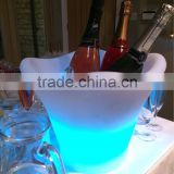 LI-Battery Remote WIFI Control LED Tonneau belvedere vodka bottle cooler acrylic ice bucket Chinese suppliers