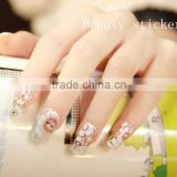 Wholesale nail foil sticker Lace Nail Wrap Gem Nail Sticker Nail art decoration Nail Sticker