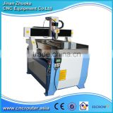4th Axis Small Desktop Cheap Advertising CNC Router 6090 Medium Size With 2200W Spindle DSP Handle Control 600*900MM