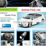 Car Alarm with Remote Engine Start Built-in and Push Button Start Car for Toyota Prius