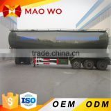 Hot Sale High quality Used 3 Axles 50CBM Bulk Cement Tank Truck Trailer for cheap price                                                                         Quality Choice