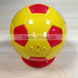 2014 innovative products for import portable Football Bluetooth speaker usb charging bluetooth wireless speakers