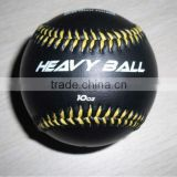 Black practice Baseball with painting----BSCI FACTORY