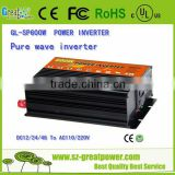 Customized 3000w dc power supply / pure sine wave power inverter 110v-220v dc output power supply