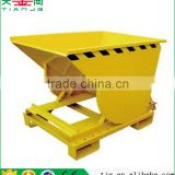 TJG high quality Lateral Dumping For Forklift Iron Filings Metal Concrete Cart