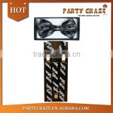Music prints suspenders braces for men