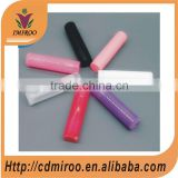Wholesale colorful empty plastic cosmetics packaging cylinder lipstick tube lip balm container