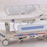 hospital patient transfer stretcher with hydraulic pump