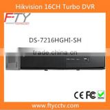 New Hikvision DS-7216HGHI-SH 16CH Turbo Hybrid DVR Support 4G Mobile Phone