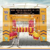 2015 new type tunnel car wash equipment, brush automatic tunnel car wash machine, automatic car wash machine