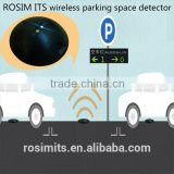 High tech wireless park space sensor parking lot occupancy detection with parking vehicle detector