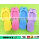 High Quality disposable shower slippers/Eva foam two foot slipper