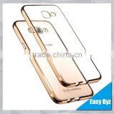 EASYBYZ Cell Phone Case For Samsung Galaxy A9 Electroplating drawing transparent TPU Back Cover Case