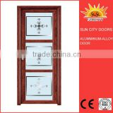 Latest design aluminum rolling shutter patio doors SC-AAD035
