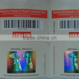Cheapest Custom Made 3d Security Seal Laser Hologram Sticker Label, Anti-Counterfeit Adhesive Sticker