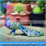 Home Interior Decoration Peacock Metal Craft, Souvenir for Gift