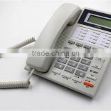 SC-110 Land line with power saving and Caller ID feature phone, no battery corded phone for home use