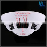 The first one real 1080P WIFI H.264 night vision wireless hidden camera UFO smoke detector ip camera