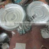 Low Cost Silver Laminated Paper Plate from India