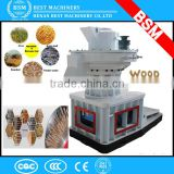 1-2TPH Biomass Wood pellet mill/Rice Husk pellet making machine/Coconut Fiber pellet mill/ EFB Pellet Machine