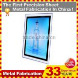 New Crystal Acrylic LED Light Box,Photo Display Lightbox for Advertising