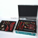 46pcs 53pcs safety tool set,spark free tools set with Aluminium alloy box hand tools, Be-Cu type bronze spanner