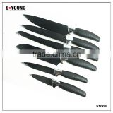 51009 6PCS STAINLESS STEEL SET Cutlery Knife Set
